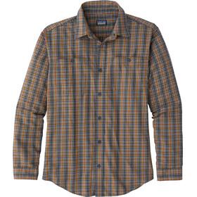Patagonia Pima - T-shirt manches longues Homme - marron/Multicolore